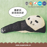 Brand New cute home decoration Panda Arm style throw pillow