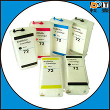 Refillable Ink Cartridge For Hp72 of ink cartridge for hp t1100make in china