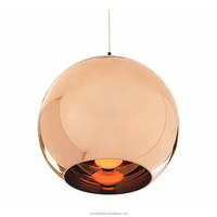 Turkiye modern luxury banquet hall lighting Glass ball Mirror Pendant for home, bar, cafe, hotel PLP8023