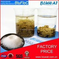 Anionic Polyacrylamide Price Leading Manufacturer Yixing Bluwat Chemicals