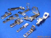 nickel plating Becu rotating electrical contacts high stamped