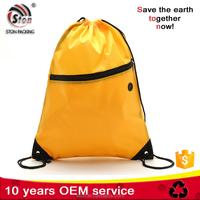 Promotional Cheap Eco Easy simple polyester slazenger backpack bag
