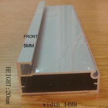 moderno gabinete de alumínio frame para a porta de vidro