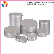 Solid perfume aluminum jar,hot sale cosmetic jar,aluminum cosmetic jar