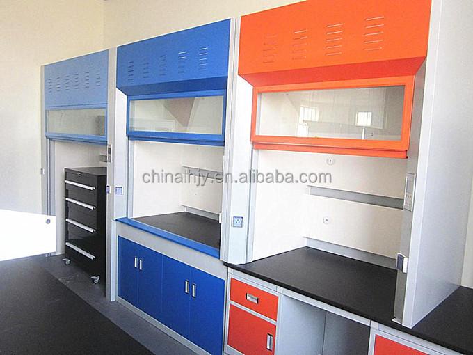 ISO Sertifikalı Metal laboratuar ekipmanları mobilya ve düşük fiyat ile Davlumbaz