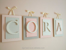 decorative Wooden Nursery room Letters