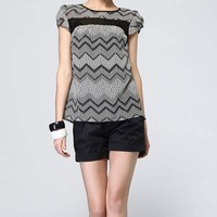 Wholesale Price Top Selling Ladies Modern Hollow Blouse For Summer