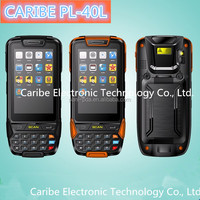 CARIBE PL-40L AN130 Rugged Mobile phone barcode Android data collector with WIFI 3G