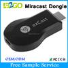 2015 B2GO google chromecast ezcast pro dongle EzCast vga miracast wireless mini keyboard for chromecast