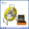 Video snake auto balance 40mm camera head Pipe sewer inspection equipment, waterproof borescope camera