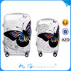 Flower Printing Hard Shell Luggage; PC+ABS