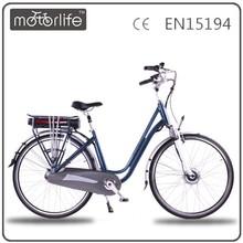 Motorlife/OEM 36v250w new stromer electric bike for city lady