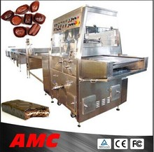 Durable Stainless Steel Chocolate/Bread/Candy Enrobing Machine