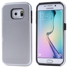 New product 2 in 1 Shockproof Silicone and PC Hybrid case for S6 edge case