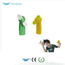 Cartoon charging small fan students carry portable mini mute creative fan handheld