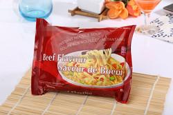 Braised Beef Delicious Instant Noodles shirataki noodles