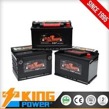 Good Vehicle batteries DIN80 MF(58043MF) King Power Brand
