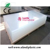 CE maked Lucite material Plexiglass sheet
