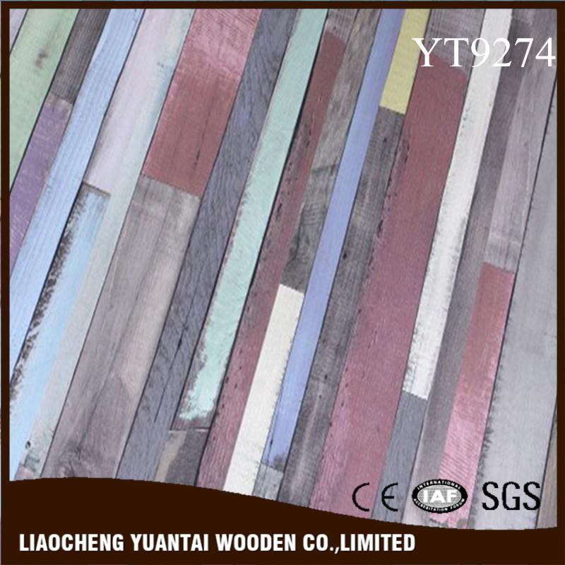 인기있는 스타일 내구성 방수 HDF 나무 라미네이트 바닥 최고의 ...