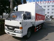 container truck JMC light VAN truck (JNDFA5060XLCJ Small van truck 5 Ton )