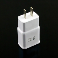2015 Brand New Genuine for samsung note4 N9100 US plug USB Adapter Usb Charger Fast Charging Fast Travel Plug