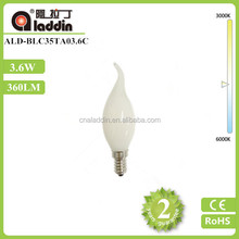 2015 new products E14 Milky LED Filament Bulb Lamp