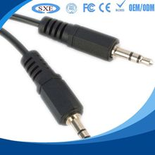 2015 high quality splitter cable hign-end usb female to audio jack male