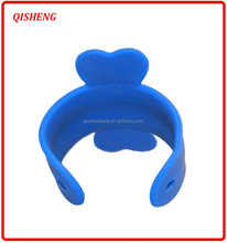 Funny silicon mobile phone holder with sticker