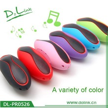 Colorful Wholesale Rugby Shape Bluetooth Stereo Speaker, AUX/USB/TF Card Supported, Handsfree, FM Radio
