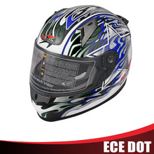 Motorcycle Full Face Helmet with ECE 22.05