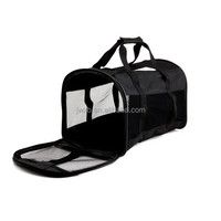 Kennel Cab black Soft Sided Pet Carrier