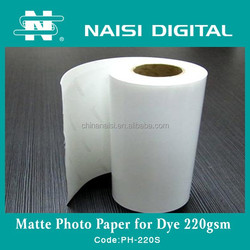 Factory Supplier Wide Format Inkjet Photo Printing Paper types