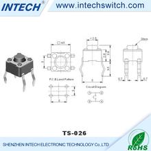AC 500V(50HZ)/Min 19mm waterproof illuminated tact switch