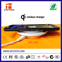 Wireless charger For Samsung galaxy S6 Qi standard Power Charger Charging Pad for Samsung S6 S6 edge Note 2/3/4 phone 6 6+