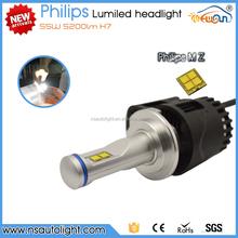 Newsun high-tech design 55w 5200lm H7 P6 Citroen C4 LED headlight kit with fan
