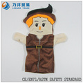 Felpa lindo marionetas de mano, personalizado juguetes, CE / ASTM seguridad stardard