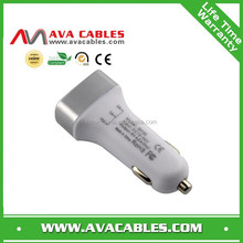 universal three usb car chargers 5V 4.2A car adapter for mobile phones