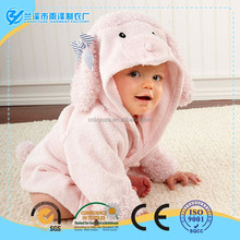 Best selling fashion cartoon printed hooded baby bathrobe for foreign trade