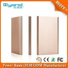portable lithium polymer power bank 2000mah