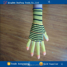 DANFENG PU118 New design high quality five fingers to strengthen antistatic breathable wear Labour protection gloves