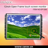 12 inch open frame touch screen for casino gaming machine, kiosk, casino , cabinet, amusement video game machines