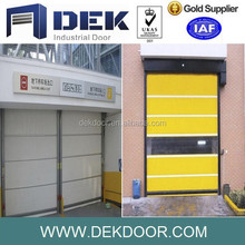 Auto fast shutter door high quality high speed roll up door