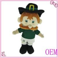 Custom design plush dolls mascot dolls