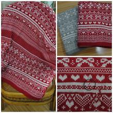 2015 fashion heart & Snow shaped throw blanket /Acrylic Throw Blanket