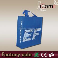 Non-woven shopping tote bag/non woven polypropylene shopping bags