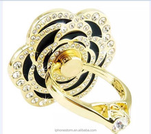 Rose Ring Phone Holder for iPhone iPad Samsung LG Smartphone Mobile Phone Accept OEM Retail Packing
