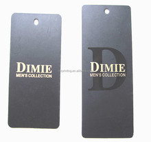 Paper Garment Tag, High Quality Cheap Wholesale Garment Hang Tag For Clothing