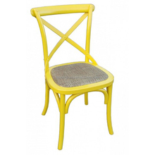 Hot selling rental wooden cross back chair for wedding