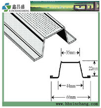 suspended ceiling grid components frame metal dotted furring channel omega