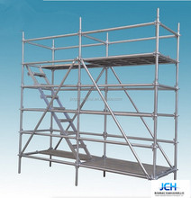 Layher Type Scaffolding System-supported scaffolding